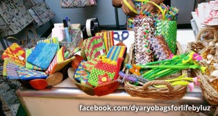dyaryo bags, unique bags, newspaper bags, gift ideas
